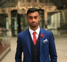 Mahiran Thavarajah, Internal Account Manager